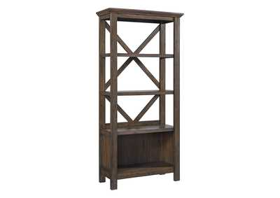 "Image for Johurst Gray 75"" Bookcase"