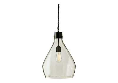 Image for Avalbane Clear/Gray Glass Pendant Light