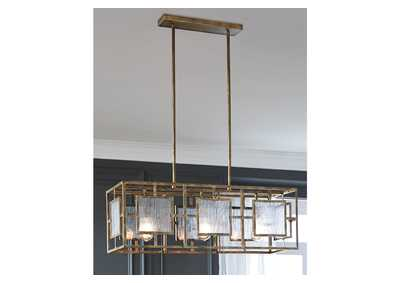 Image for Pacey Gold Pendant Light