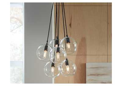 Image for Sybil Black Pendant Light