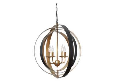 Image for Makani Black/Gold Pendant Lamp