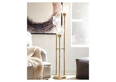 Emmie Gold Floor Lamp