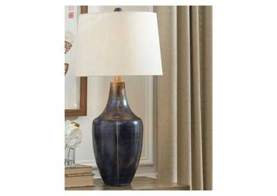 Evania Indigo Table Lamp