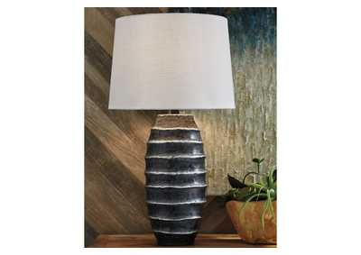 Billow Silver Table Lamp