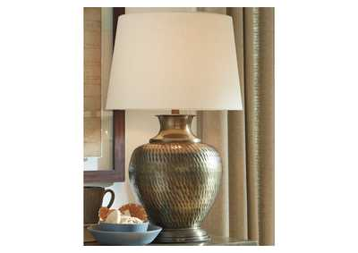 Eviana Brass Table Lamp
