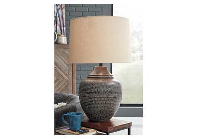 Olinger Brown Table Lamp,Signature Design By Ashley