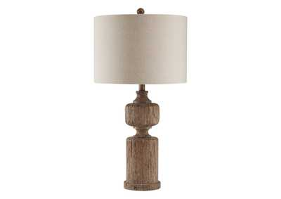 Madelief Brown Poly Table Lamp