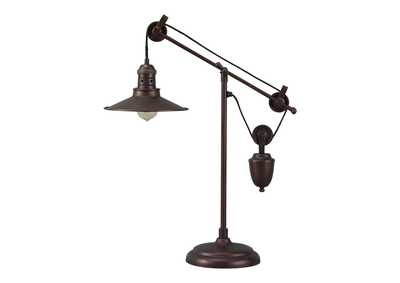 Image for Kylen Bronze Finish Metal Desk Lamp