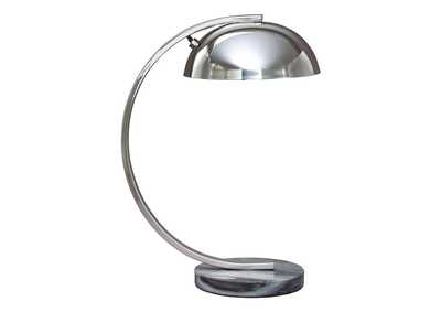 Haden Chrome Finish Metal Desk Lamp (1/CN)
