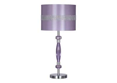 Image for Purple Nyssa Metal Table Lamp