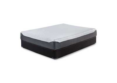 10 Inch Chime Elite California King Memory Foam Mattress in a box w/Foundation