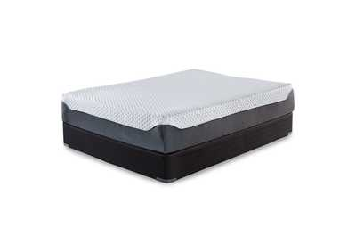 Image for 12 Inch Chime Elite California King Memory Foam Mattress in a box w/Foundation