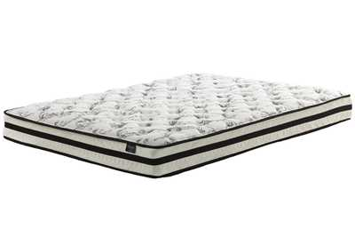 "Chime 8"" White Innerspring Full Mattress"