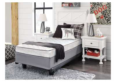 6 Inch Bonell Twin Mattress w/Foundation,Sierra Sleep by Ashley