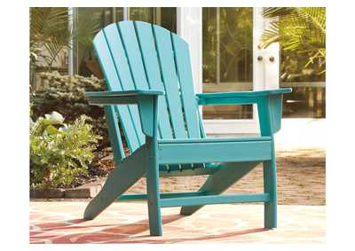 Sundown Treasure Blue Adirondack Chair