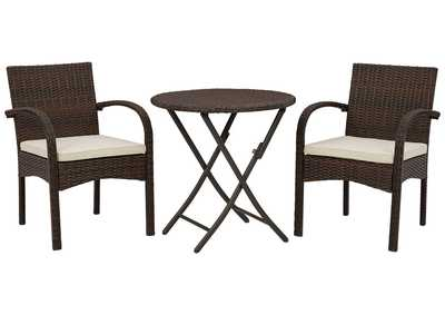Image for Anchor Lane Outdoor Chairs with Table Set (Set of 3)