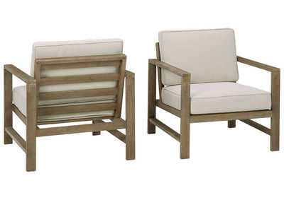 Image for Fynnegan Lounge Chair with Cushion (Set of 2)