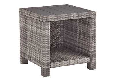 Image for Salem Beach Gray End Table