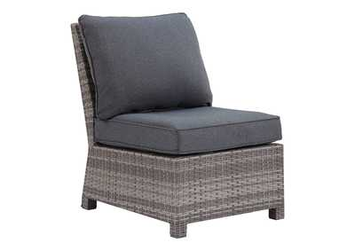 Image for Salem Beach Armless Chair with Cushion