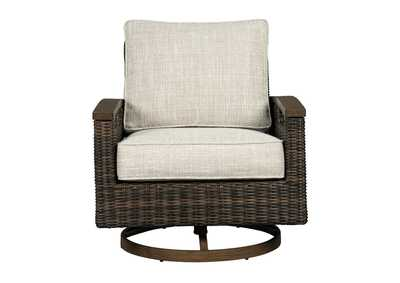 Paradise Trail Medium Brown Swivel Lounge Chair (Set of 2)