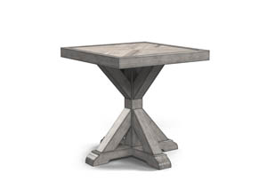 Image for Beachcroft Beige Square End Table
