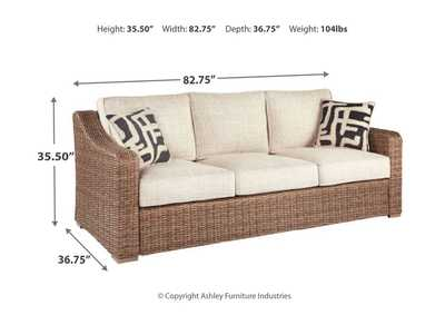Beachcroft Sofa with Cushion,Outdoor By Ashley