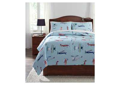 McAllen Multi Full Quilt Set,Signature Design By Ashley
