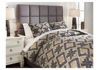 Image for Scylla 3-Piece Queen Comforter Set