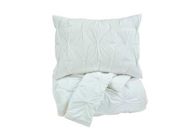 Image for Rimy White King Comforter Set