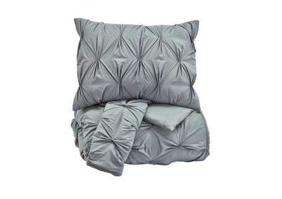 Image for Rimy Gray King Comforter Set
