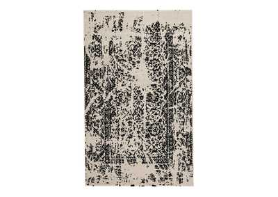 Image for Jag Black/White Large Rug