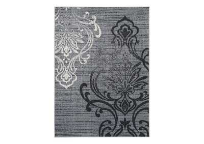 Image for Verrill Gray/Black 8' x 10' Rug