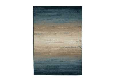 Image for Ignacio Blue/Tan Large Rug