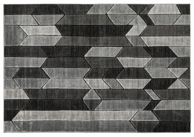 Image for Chayse Black/Grey Large Rug