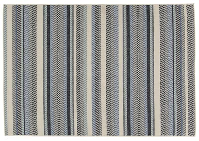 Image for Troost Blue & Cream Medium Rug
