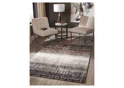 Marleisha Black Large Rug
