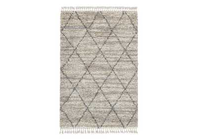 Image for Abdalah Gray/Cream 5' x 7' Rug