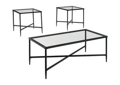 Image for Augeron Black Occasional Table Set