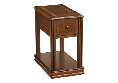 Image for Brown Chair Side End Table