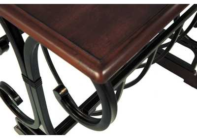 Braunsen Brown Chair Side End Table,Direct To Consumer Express