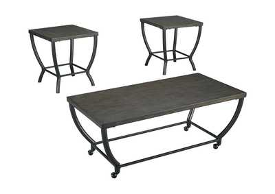 Image for Champori Grayish Brown Occasional Table Set