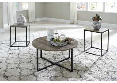 Wadeworth 3 Piece Occasional Table Set,Signature Design By Ashley