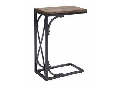 Golander Medium Brown Chair Side End Table