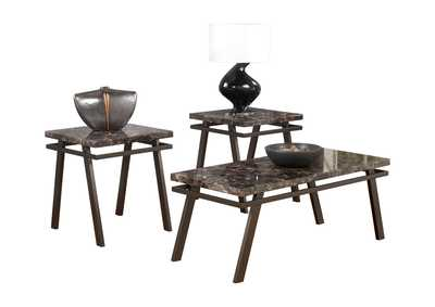 Image for Paintsville Occasional Table Set (Cocktail & 2 Ends)