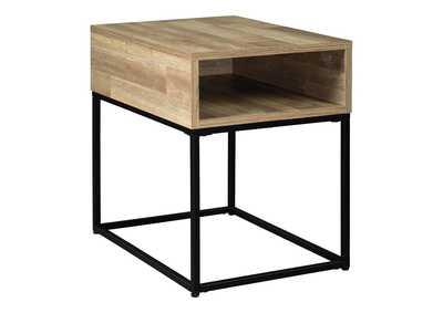 Image for Gerdanet Natural End Table