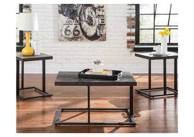 Airdon Gray Occasional Table Set (Cocktail & 2 Ends),Direct To Consumer Express