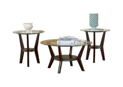Fantell Occasional Table Set (Cocktail & 2 Ends)