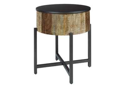 Image for Nashbryn Gray/Brown End Table