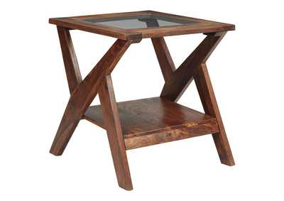 Image for Charzine Brown End Table