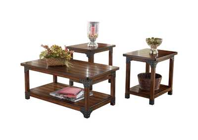 Murphy Occasional Table Set (Cocktail & 2 Ends)